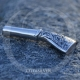 Sterling Silver Rhodium Plated Hookah Mouth Tip-OTTASILVER