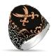 Zulfiqar Sword 925s Silver Ring-OTTASILVER