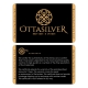 Turquoise Stone Men Silver Ring-OTTASILVER