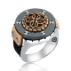Special Design Silver Men Ring-OTTASILVER