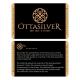 Silver Oval Men Ring-OTTASILVER
