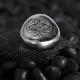 Minimalist Casual Silver Ring in 925K Silver-OTTASILVER