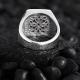 Basic Sterling Silver with Minimal Black-White CZ Diamonds-OTTASILVER