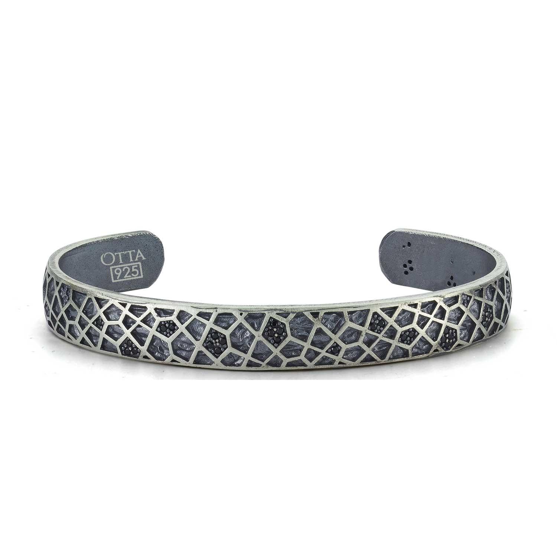 Silver Bangle Modern Design-OTTASILVER