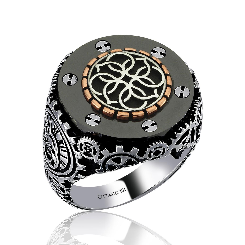 Special Design Silver Ring-OTTASILVER