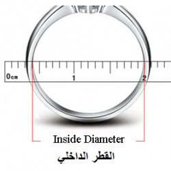 how to find your ring size with a ruler